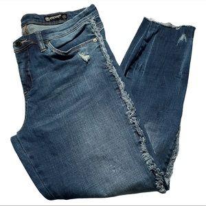 Blank NYC Fringe Jeans Blue Size 31